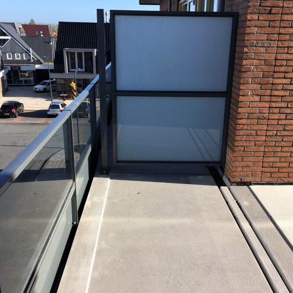 Privacyschermen van Straatman Balustraden en Trappen