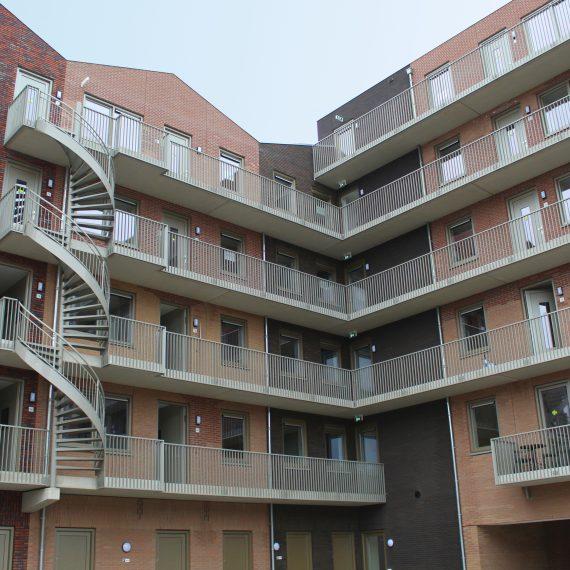 Appartementen Pakhuysen te Almere