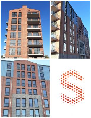 Appartementencomplex Dockvier te Dokkum