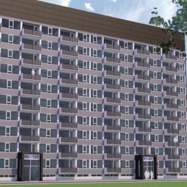 Neuer Auftrag: Europas erstes energieproduzierendes Hochhauswohnung